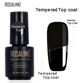 ROSALIND 7ML Rubber&Tempered&Reinforce Coat Top Base Coat For Gel Polish