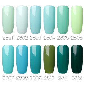 Agate Green Color Nail Gel