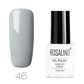 Rosalind Classic Neutral Colour UV Nail Gel Black Gray White Silver