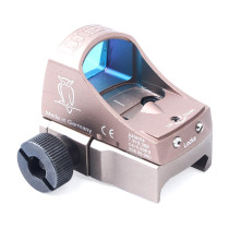 Carved Version Owl Pattern Holographic Red Dot Scope Sight