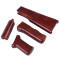 4Pcs Stock Handguard and Rear Handle Set for RX AK47 Gel Ball Blaster - Dark Brown