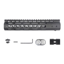 10 Inches NSR RIS/RAS/Rails for BD556/Magpul/ttm/JM Gen.9 Receiver - Black