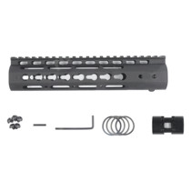9 Inches NSR RIS/RAS/Rails for BD556/Magpul/ttm/JM Gen.9 Receiver - Black