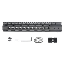 12 Inches NSR RIS/RAS/Rails for BD556/Magpul/ttm/JM Gen.9 Receiver - Black