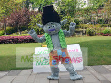 Dreamworks Characters Trolls Gnome Branch Party Mascot Costume