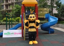 Deluxe Bumble Bee Mascot Costume