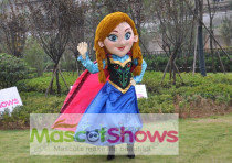 New Special Anna Frozen Mascot Costume Elsa Olaf Figure Ice Character