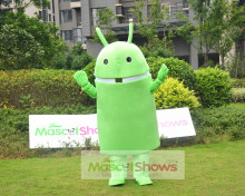 Android Robot Mascot Costume Fancy Dress for Festival Advertise
