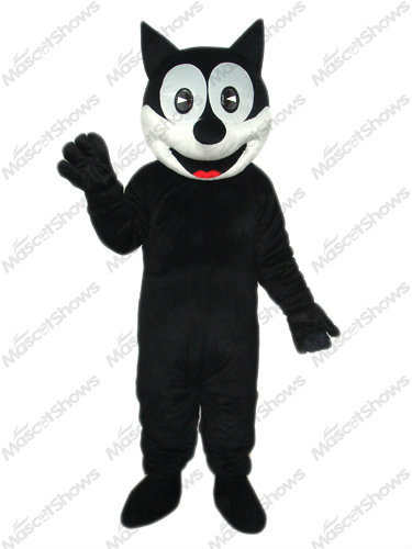 Happy Cat Mascot Adult Costume