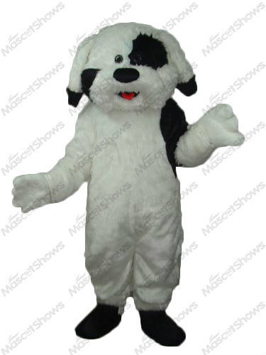 Furry Sheepdog Mascot Costume