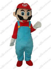 2nd Version MarioMascot Adult Costume