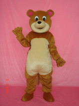 New Version Round Mouth Bear Mascot Costumes Mascot Costume