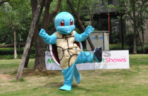 Squirtle Turtle Pokemon Mascot Costume Fancy Dress Outfit Polyfoam