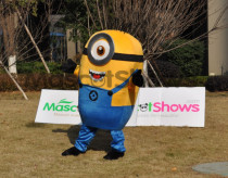 Buy Minions Mascot Costume Despicable Me Character Mascot Costume Handmade Be Affordable But Of Very High Quality