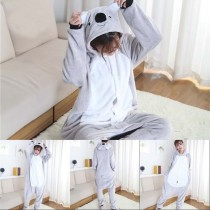 Large Size XXL Kigurumi Onesie Animal Adult Halloween Cartoon Pajamas Flannel Women Cosplay Clothing Party Jumpsuit Sleepwear