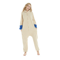 Animal Rabbit Onesie Kigurumi Jumpsuit For Adult Pajamas Women Sleepwear Men Bunny Pyjamas Cosplay Easter Party