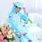 Super Monster Sullivan Onesie Kigurumi Pajamas For Adult Pyjamas Cartoon Sully Jumpsuit For Cosplay Sleepwear Halloween Party
