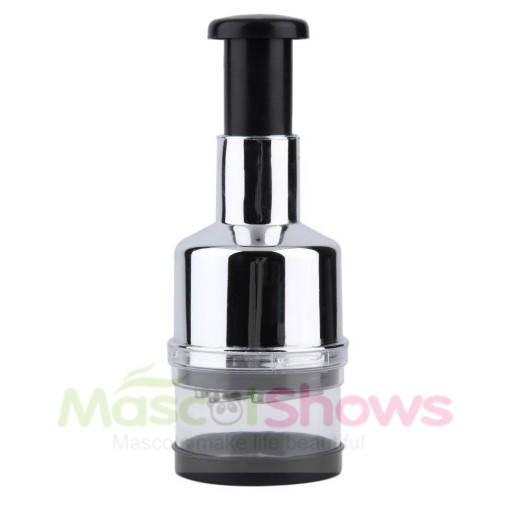 Multi-layered Pressing Kitchen Onion Garlic Cutter Vegetable Chopper Slicer