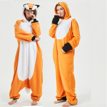 2styles High Quality Fox Kigurumi Animal Adult Onesie Orange Women Pajamas Party Cosplay Unisex Sleepwear Halloween Costume