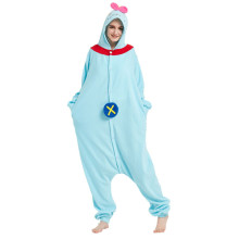 Hot Popular Adult Kigurumi Stitch Onesies Pajamas Polar Fleece Sleepwear For Halloween One-piece Jumpsuit Pijama Cosplay