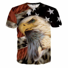 Funny Beer Time Letters T Shirts Tee Religion Buddha Print Tshirts Men/Women Cool USA Flag Eagle 3D T Shirt Tees Dropship