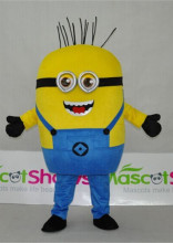 Costume De Mascotte Minion Moi Moche Et Mechant Adulte Size Cartoon Mascotte Deguisement Pas Cher