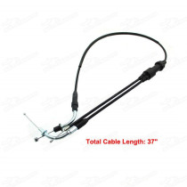 Replacement Throttle Cable For YAMAHA PW80 PW 80 Y-Zinger 1985-2007 BW80 1986-1990