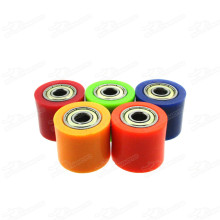 Pitbike Tensioner Nylon Chain Roller Wheel Guide OD 32, ID 8mm Width 28mm For 50-250cc Dirt Pit Bike Motard Fiddy Motocross