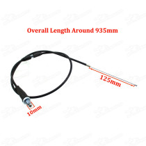 Pitbike 935mm 37  Adjustable Throttle Cable Accelerator Line For Chinese 50cc - 190cc Pit Dirt Monkey DAX Fiddy Motard Bikes Motorcycle Motocross