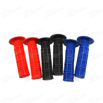Half Waffle Pitbike 7/8 Inch 22mm Handlebar Soft Double Hand Grip For Dirt Pit Monkey Dax Scooter Moped Bike Twist Throttle