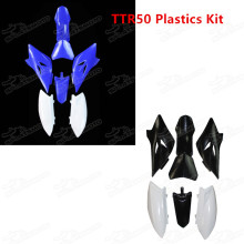 Pitbike Bodywork 49CC 4-stroke Air Cooled Complete Plastic Body Frame Plastics Body Fender Kit For YAMAHA TTR50 TTR50E 2006-2016 TTR 50 Fairing Panels
