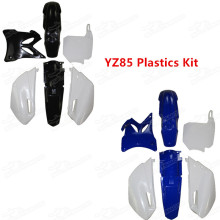 YZ 85 Bodywork 2 Stroke Pit Dirt Enduro Bike Aftermarket Complete Body Plastics Plastic Fender Kit for Motocross Yamaha YZ85 2002-2014 Attention: The Front Number Plate & Front Fender Are Different With The Stock One. Fairing Panels