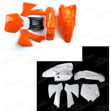 Aftermarket Pitbike Bodywork 49CC 2-stroke Water Cooled Complete Plastic Body Frame Plastics Body Fender Kit For KTM50 KTM 50 SX JUNIOR 50CC KTM50SX MT50 MTK50 Adventure Junior 50cc MINI ADVENTURE AND THEIR REPLICA MODELS 1997-2010 Fairing Panels
