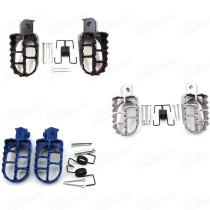 Footpeg For Yamaha PW 50 80 PW50 PW80 TW200 Honda XR50R CRF50 CRF70 CRF80 CRF100F Dirt Bike Aluminium Footrest Foot Pegs