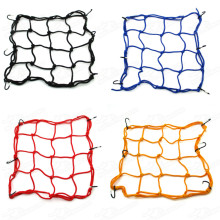 Cargo Net For Motorcycle ATV Quad Dirt Pit Monkey DAX Gorilla Bike Motocross Enduro Luggage Bungee Cord Fuel Tank Helmet Mesh Carrier Holder 30x30cm Pitbike