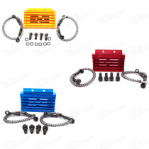 Oil Cooler CNC Cooling Radiator For 125cc 140cc 150cc YX Lifan Zongshen Pit Dirt Bike Motard Pitbike CRF50 BSE Kayo YCF Thumpstar