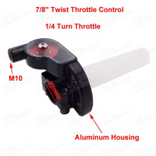 Twist Throttle Control For 7/8  22mm Handlebar YX Lifan 125cc 140cc 150cc Thumpstar SSR Pit Dirt Bike Pitbike