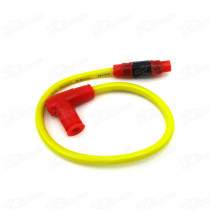 8.8mm Twin Core Race Power Cable Ignition Coil For Road Racing ATV Quad Dirt Pit Bike Moped Scooter Motorcycle Pitbike Trail Monkey DAX Gorilla MSX125 Bikes