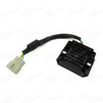 Voltage Regulator Rectifier 4 Wires for GY6 scooter ATV Quad 125cc 150cc Pit Dirt Bike Motard Motorcycle