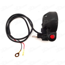 Kill Starter On/Off Switch Throttle Housing For Pocket Bike Mini Moto Scooter 47 49cc ATV Quad