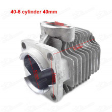 40mm Cylinder Body Block for 47cc 49cc 2 Stroke Engine Of mini Quad ATV Pocket Dirt Bike Minimoto Gas Scooter