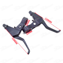 Right Left Brake Levers 43cc 47cc 49cc 2 Stroke Mini Chopper Pocket Dirt Bike Gas Scooter Minimoto