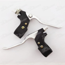 Right Dual Twin Brake & Left Brake Lever For Water Cool Pocket Bike 47cc 49cc Mini Quad ATV