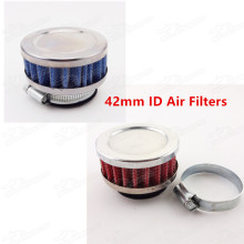 High Performance 42mm Air Filter Cleaner For GY6 150cc Moped Scooters ATV Quad Go kart Pit Dirt Bike Motorcycle