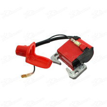 Red Ignition Coil For 47cc 49cc mini moto quad atv pocket dirt bike minimoto