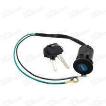 2 Wire Ignition Key Switch For Mini Dirt Pocket Bike ATV Quad Go Kart Moto Minimoto