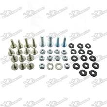 Fairing Screw Plastic Panel Bolts Set For Chinese KLX110 Pit Dirt Bike Motorcycle