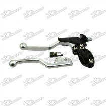 Handle Brake Clutch Lever For Chinese KLX110 Pit Dirt Motor Bike Mototrcycle Motocross
