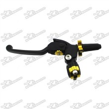 Black Gold IGP Profile Pro Clutch Perch Folding Lever For Motorcycle Pit Dirt Bike