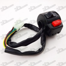 Right Side Alloy Handle Switch Control Assy For Moped Scooter GY6 50cc 125cc 150cc